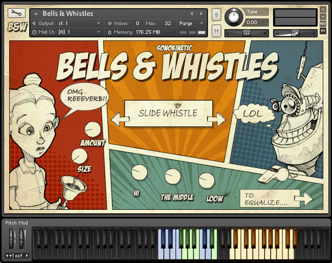 Bells & Whistles - Sonokinetic - Sample libraries and