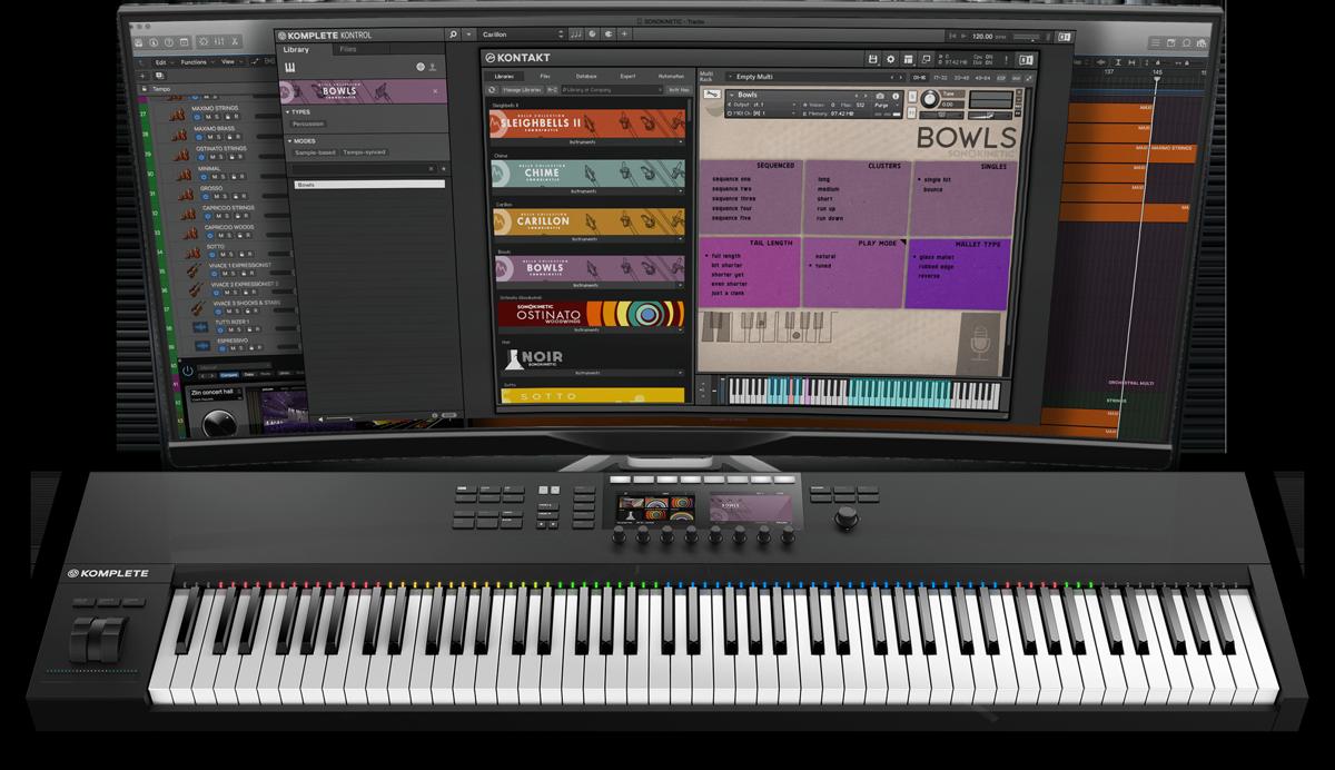 Bowls - Sonokinetic - Sample libraries and Virtual Instruments
