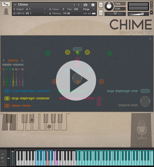 Chime - Sonokinetic - Sample libraries and Virtual Instruments
