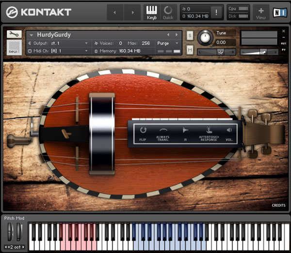 Hurdy Gurdy - Sonokinetic - Sample libraries and Virtual Instruments