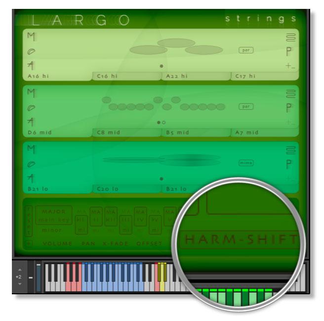 Largo Harmonic Shift