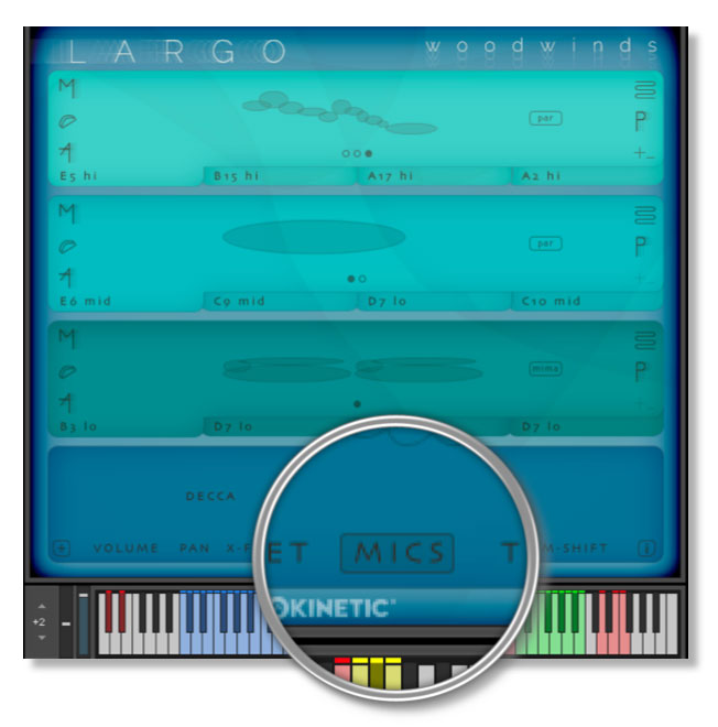 Largo Microphone Mixing