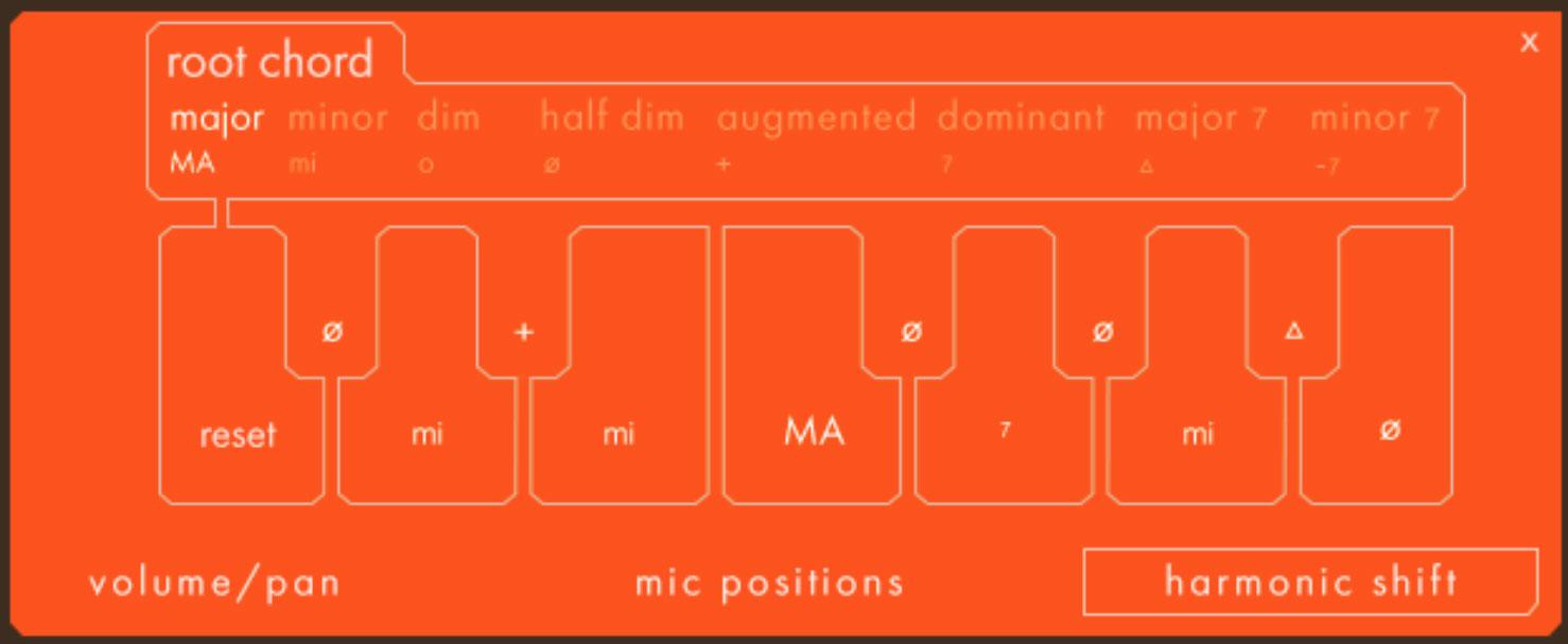 Ostinato Brass Harmonic Shift in Detail