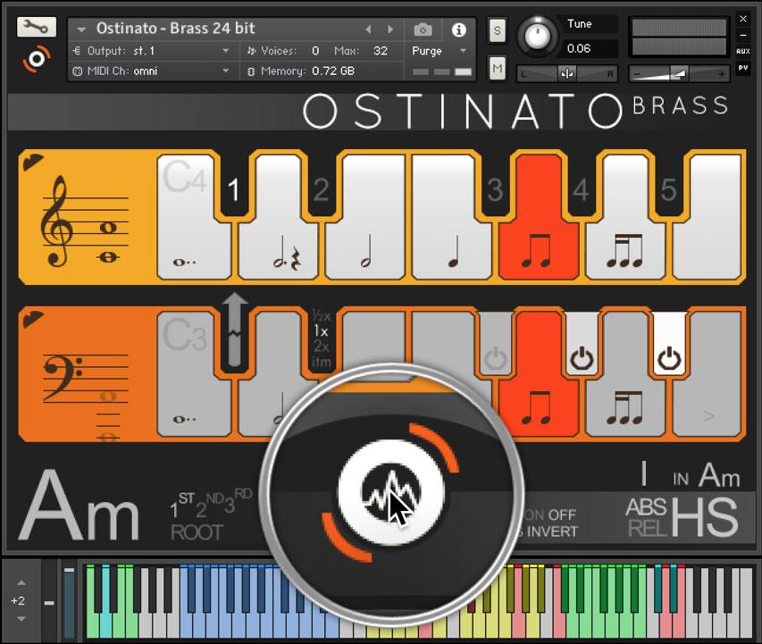 Ostinato Brass Options
