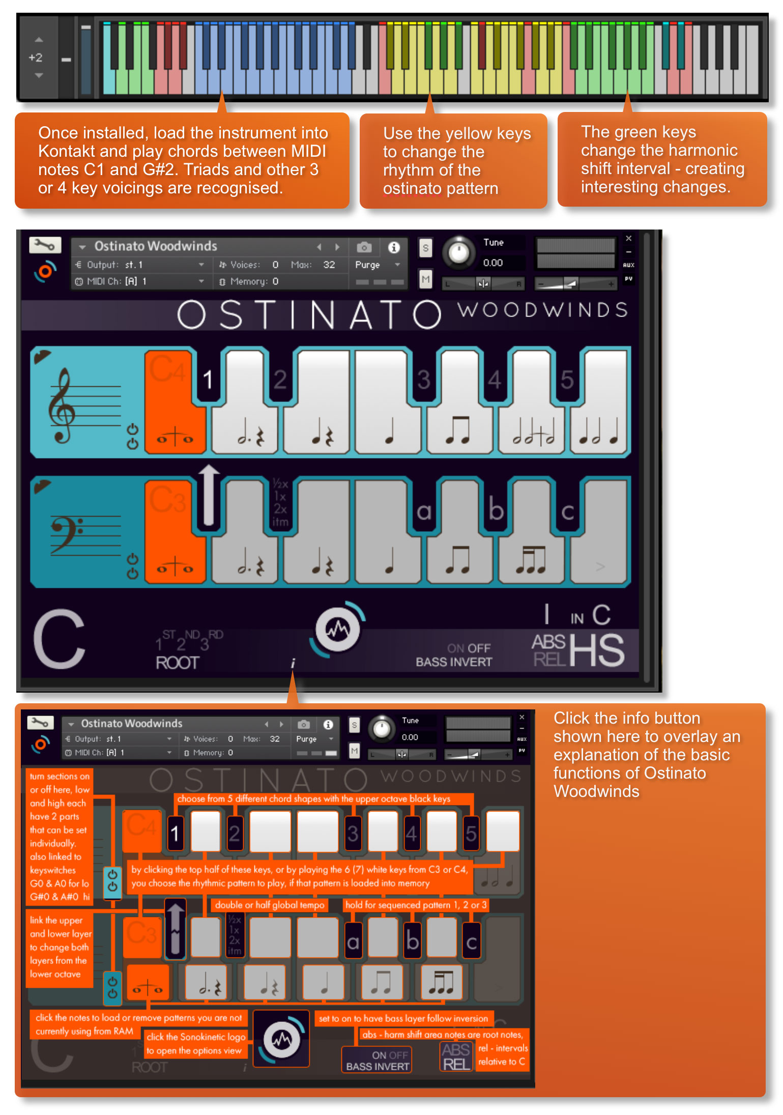 Ostinato Woodwinds Quick Start