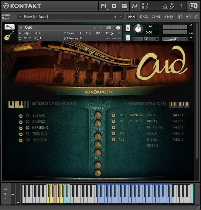 Oud - Sonokinetic - Sample libraries and Virtual Instruments
