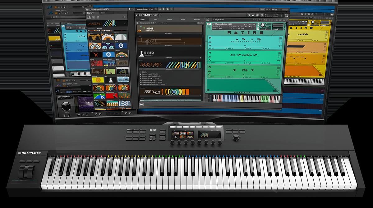 Sonokinetic Instruments - Sonokinetic - Sample libraries and Virtual