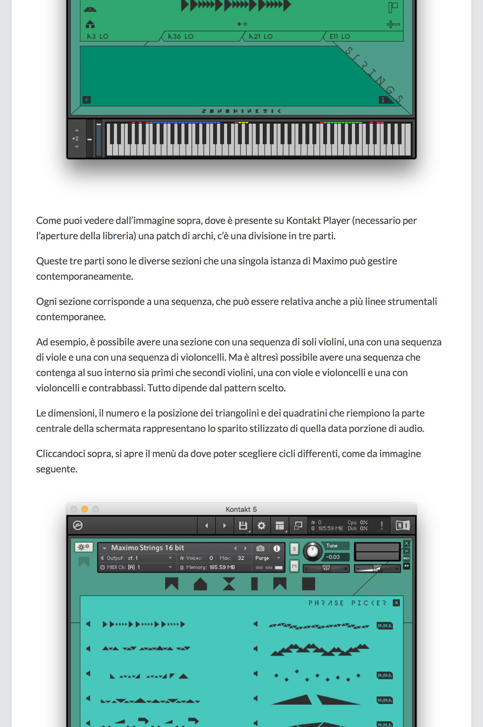 Maximo - Sonokinetic - Sample libraries and Virtual Instruments