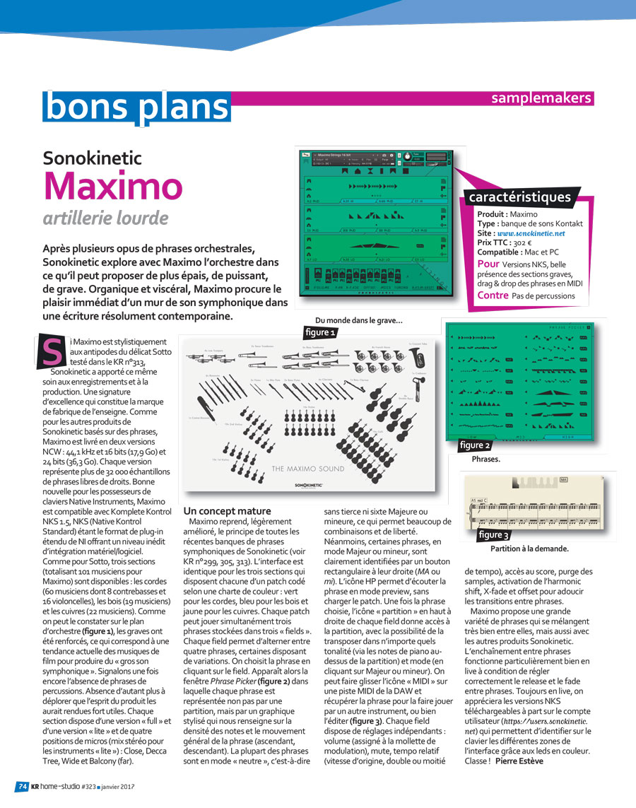 Maxmo Review by KR Home Studio