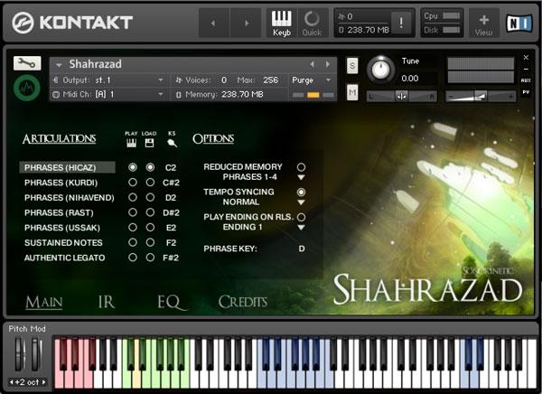Shahrazad - Sonokinetic - Sample libraries and Virtual Instruments