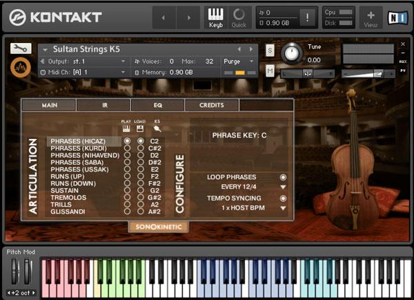 Sultan Strings - Sonokinetic - Sample libraries and Virtual