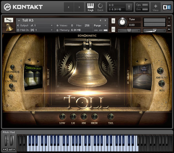 Toll - Sonokinetic - Sample libraries and Virtual Instruments