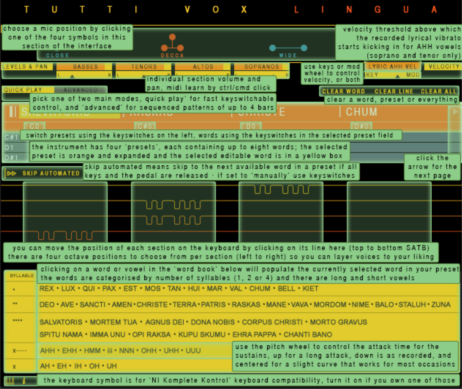 Tutti Vox Lingua Help Overlay