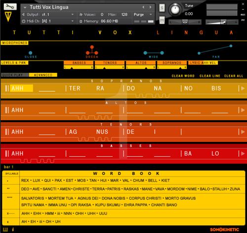 Tutti Vox Lingua Interface