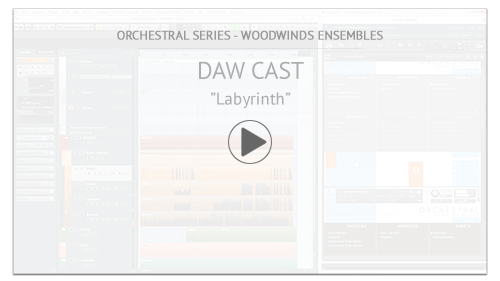 "Video Tutorial: Woodwinds Ensembles DAW CAST:  ""Labyrinth"""